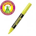 Zvýrazňovač Centropen 8542 hrot 5 mm, žlutý