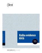 Kniha evidence klíčů OP 1243