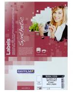Etikety samolepicí A4 210 x 297 mm PET bílá balení 10 listů