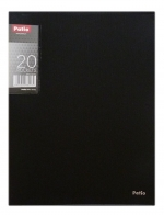 Katalogová kniha Patio 20 listů - černá