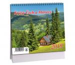Kalendář 2019 stolní Krásy Čech a Moravy - K 365