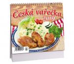 Kalendář 2019 stolní Česká vařečka - K 360