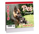 Kalendář 2019 stolní Pes - věrný přítel - K 366