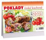 Kalendář 2019 stolní Poklady české kuchyně - K 322