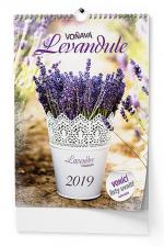Kalendář 2019 nástěnný - Voňavá levandule BNV5