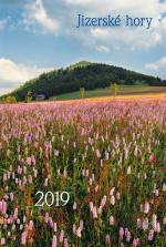 Kalendář 2019 nástěnný  - Jizerské hory