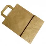 Taška H papírová přírodní 220x111x280mm