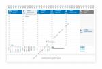 Kalendář 2020 stolní Maximanager GS 20-007- modrý