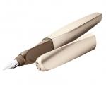 Pero bombičkové Pelikan Twist - bronzová