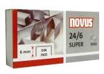 Drátky Novus 24/6 sešívací sponky balení 1000 ks - SUPER