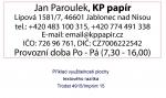 Polymer na zakázku pro razítka Trodat 4915, Imprint 15, Colop 50