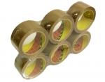 Balící lepíci páska, 50mmx66m, 3M SCOTCH, hnědá