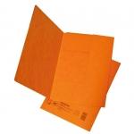 Desky papírové A4 mapa 253 prešpán, oranžová