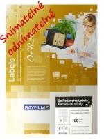 Etikety samolepicí RAY 52,5 x 21,2 R0102.0302A