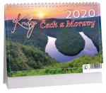 Kalendář 2020 stolní - Krásy Čech a Moravy - K 396