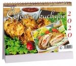 Kalendář 2020 stolní - Šéfem v kuchyni - K 381