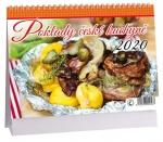 Kalendář 2020 stolní - Česká kuchyně - K 378