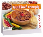 Kalendář 2020 stolní - Gulášové recepty - K 384