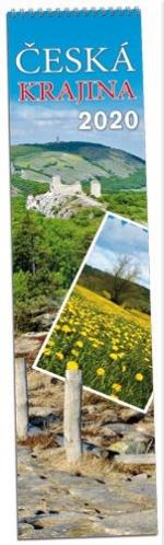 Kalendář 2020 nástěnný měsíční - Česká krajina - KN 150