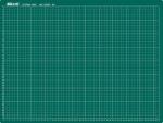 Řezací podložka A4, 22 x 30 cm, jednostranná  zelená