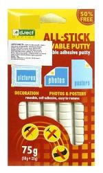 Lepicí guma All-stick 75 gr. bílá