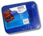 Kovová pokladna č.22 (200 x 160 x 90 mm) modrá