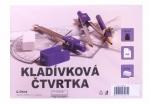 Čtvrtka A4 kladívková - 10 ks