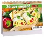 Kalendář 2021 stolní - Zdravé snídaně K 461