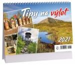 Kalendář 2021 stolní - Tipy na výlet K 448