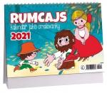 Kalendář 2021 stolní - Rumcajs - omalovánky K 474