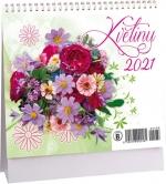 Kalendář 2021 stolní - Květiny mini K 488
