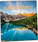 Kalendář 2021 nástěnný - Národní parky KNCD 182