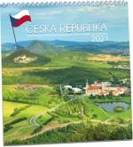 Kalendář 2021 nástěnný - Česká republika KNCD 181