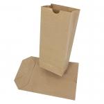 Sáček kupecký papírový do 3 kg, křížové dno, balení 1 kg - 50 ks