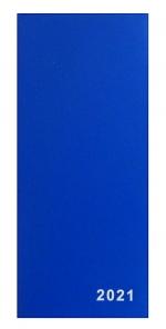 Diář 2021 měsíční plánovací VM1-1 PVC modrý