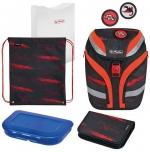 Školní taška Herlitz SoftFlex Auto - vybavená