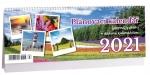 Kalendář 2021 stolní - Plánovací s citáty + daňový K 496