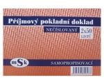 Příjmový pokladní doklad MSK 53