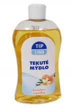 Mýdlo tekuté 500 ml Tip line - broskev, vanilka