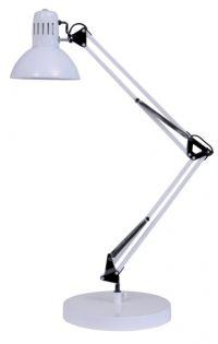 Stolní lampa ARCHI bílá