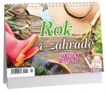 Kalendář 2021 stolní - Rok v zahradě 14-denní - K 476