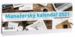 Kalendář 2021 stolní Manažerský + daňové kalendárium K 498