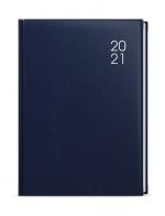 Diář 2021 A4 týdenní BTT7-1 - modrý