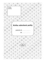 Kniha odeslané pošty MSK 242