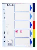 Registr A5 (5 barev) plastový