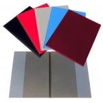 Desky - složka A4 boční kapsy PVC - bordó