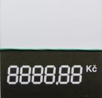 Digitální cenovka malá 60 x 60 mm MSK 1160