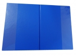 Desky - složka A4 boční kapsy PVC - modrá