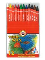 Voskovky Koh-i-noor 8272 12 barev TRIO WAX