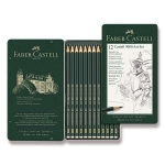 Faber-Castell 9000 plech 12 ks (8B,7B,6B,5B,4B,3B,2B,B,HB,F,H,2H)